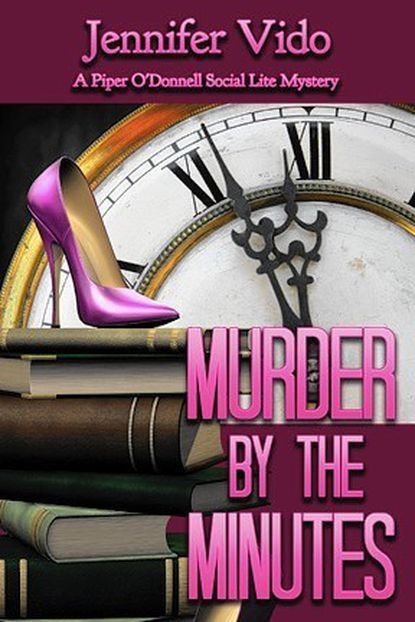 """""""Murder by the Minutes,"""" Jennifer Vido's third book in the """"Social Lite Mystey"""" series was released in April."""