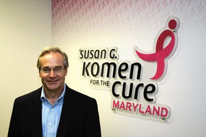 Mark Roeder of Westminster has been chosen to fill the position of executive director for the Komen Maryland organization