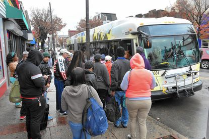 Some riders aghast at Hogan's proposed bus changes