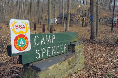Activities will continue as normal at scout locations, such as Camp Spencer (pictured in 2012) in Whiteford.