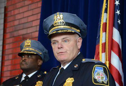 Police Chief Jim Johnson.