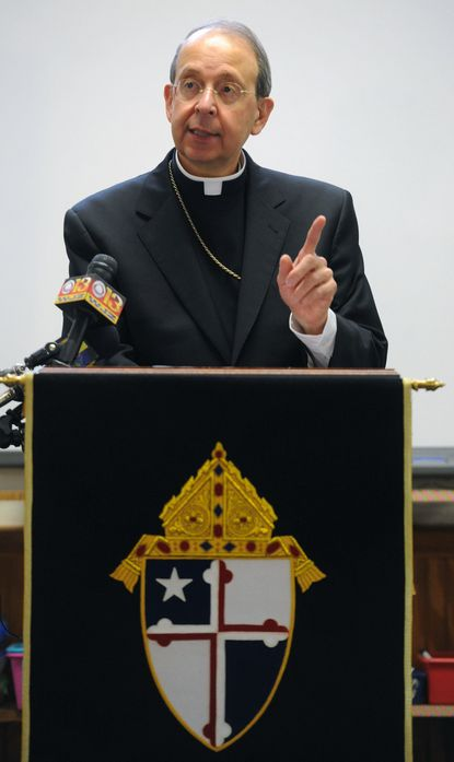 """Baltimore Archbishop William E. Lori said the nation's Catholic bishops, who will be in town this week for their annual fall assembly, """"willnot do a postmortem on a presidential election in the way one might see on CNN or read in the Baltimore Sun."""""""