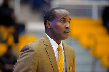 Coppin State head coach Michael Grant