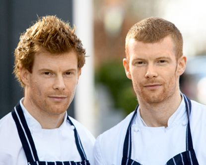 Monday Mailbox -- British ginger Michelin twins chefs headed for James Beard House