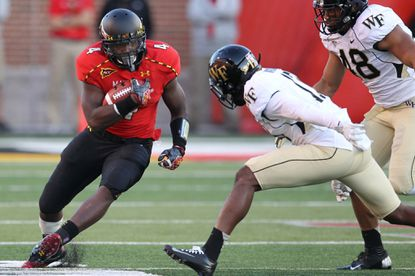 Suspended Terps running back Wes Brown close to returning to school