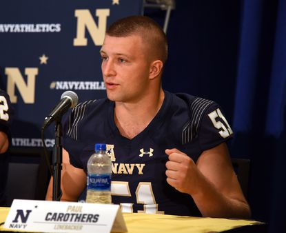 Captains apologize for Navy football motto in 'about one minute'
