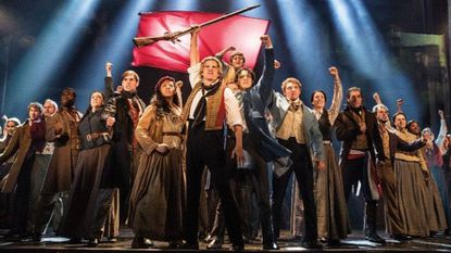 "A scene from the national tour of ""Les Miserables"" that plays the Hippodrome Theatre October 2018."