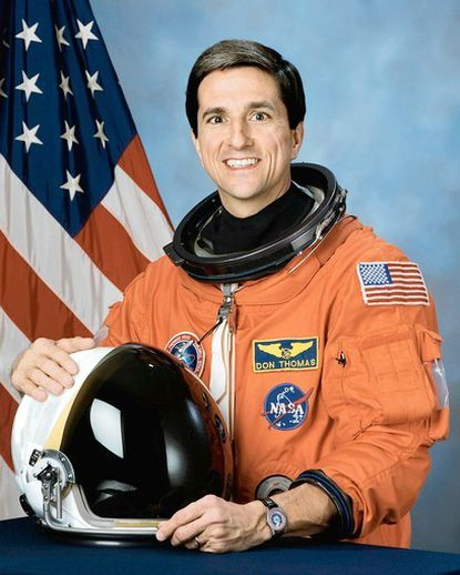 Former NASA astronaut Donald A. Thomas is scheduled to speak at Harford Day School on March 12.