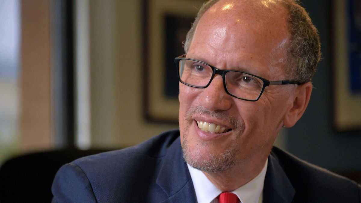 Democratic National Chairman Tom Perez trying to heal party