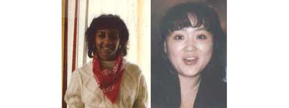 Karen Delores Brown and Annelise Hyang Suk Lee