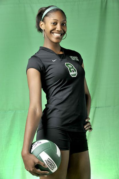St. Paul's Bailey Webster is the All-Metro Player of the Year for volleyball.