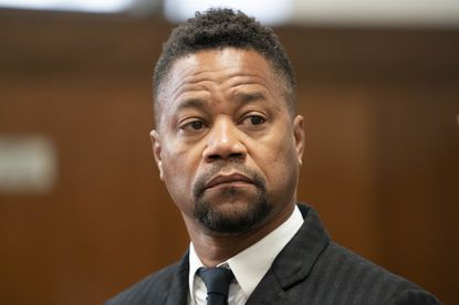 Cuba Gooding Jr. appears in a courtroom in New York, Thursday, Oct. 10, 2019.