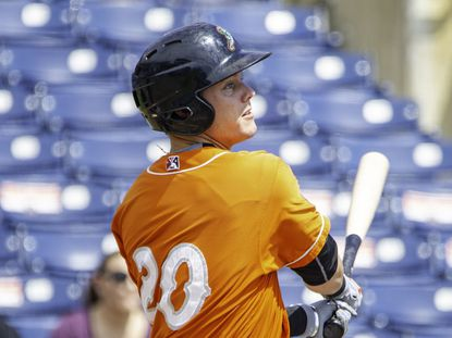 Ryan Mountcastle, who had a stellar season for the Norfolk Tides, was named Orioles' Brooks Robinson Minor League Player of the Year