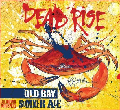 Dead Rise, a summer ale with Old Bay