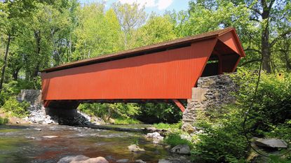 Restoration of the historic Jericho Coverage Bridge in Baltimore and Harford counties was honored by Harford County's Historic Preservation Commission at its annual awards ceremony.