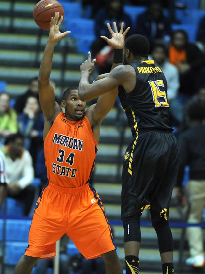 Morgan State basketball to open season without senior starters Cedric Blossom and Rasean Simpson