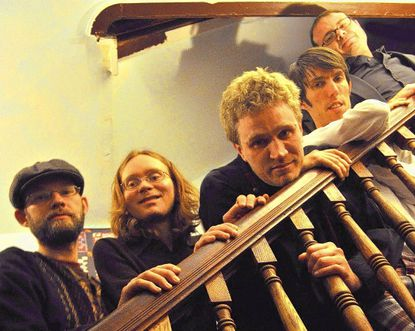 The band Fractal Cat, which has just released its second album, started as a studio project, but evolved into a five-piece ensemble.