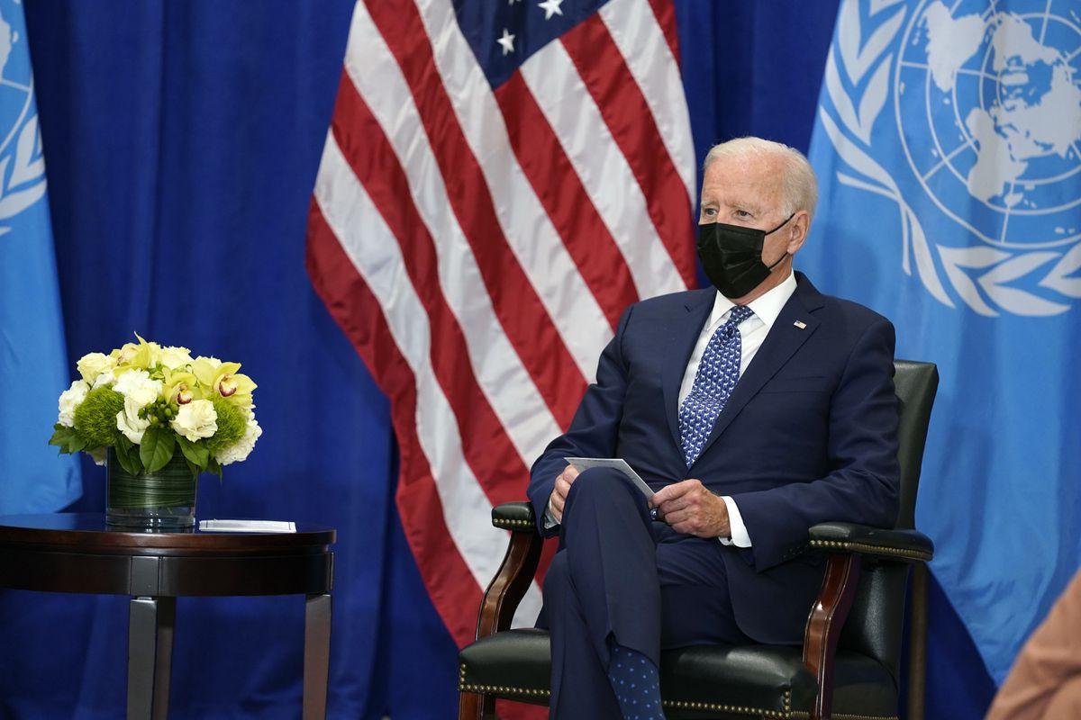 President Biden preps for UN General Assembly address