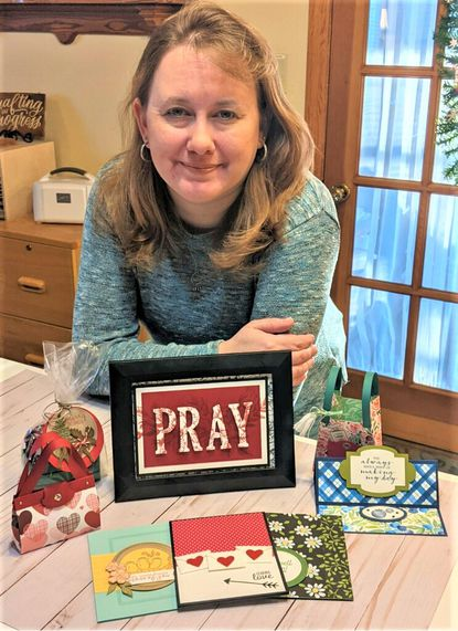 Jennifer Helm is a paper crafter from Taneytown.
