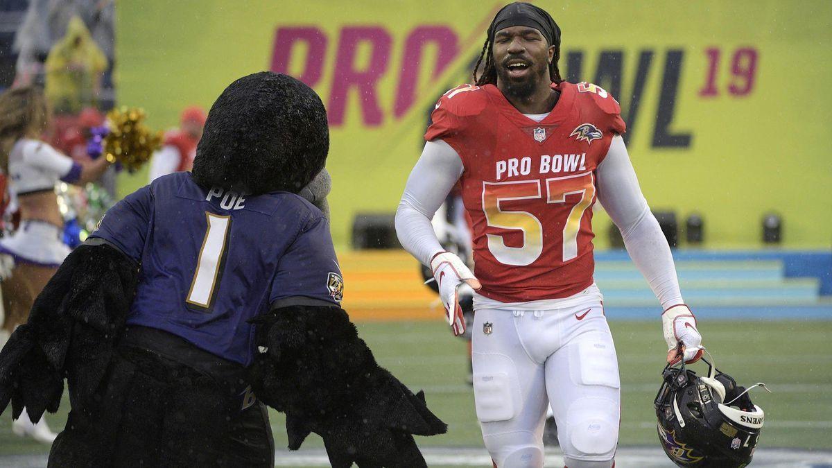Ravens linebacker C.J. Mosley reportedly won't get franchise tag ...