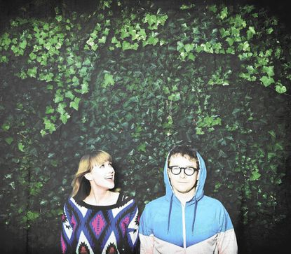 Baltimore's Jenn Wasner (left) and Andy Stack of indie-rock act Wye Oak.