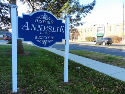 The community of Anneslie will dedicate its new neighborhood sign on York Road next week.