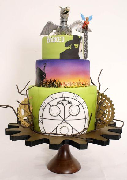 The Ozmopolitan Cake from Charm City Cakes