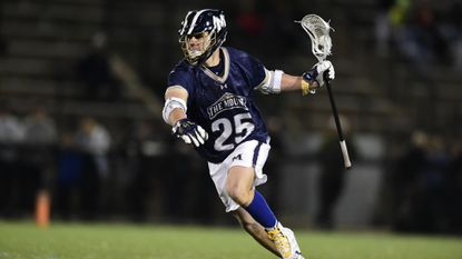 Sophomore midfielder Luke Frankeny and the Mount St. Mary's men's lacrosse team own a one-game lead over Hobart in the race to the Northeast Conference's regular-season title and the right to host the league's tournament. The two teams will clash on Saturday.