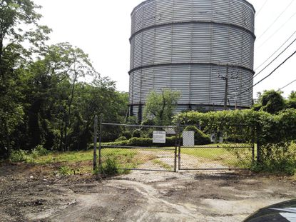 Baltimore Gas & Electric Co. plans to implode an old natural gas tank that was built in 1932 and retired in 1997.