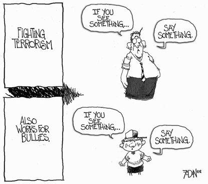 Howard editorial cartoon