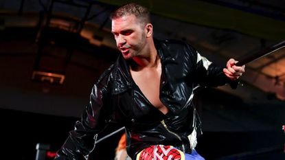 Frankie Kazarian will participate in Ring of Honor's Tag Wars 14 at William J. Myers Pavilion on Saturday.