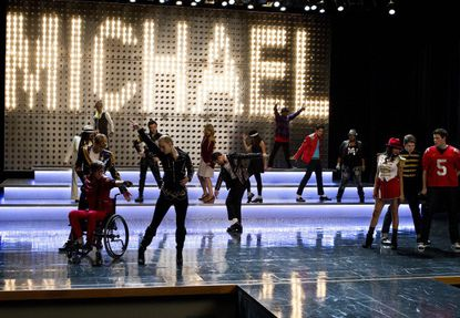 The glee club kids take on the King of Pop. Umm...what?