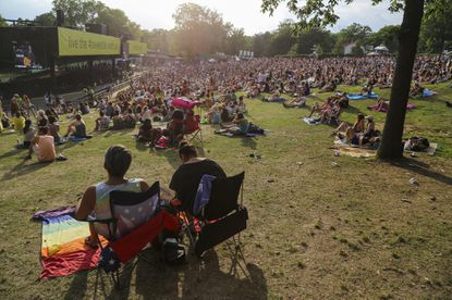 Thousands attended the 2015 Sweetlife Music Festival at Merriweather Post Pavillion in Columbia.