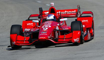 Scott Dixonwon the Grand Prix of Long Beach on Sunday for the first time in nine attempts.