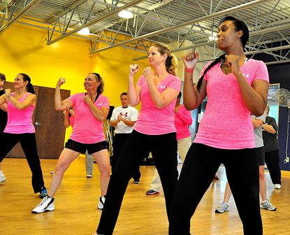 Eldersburg athletic club hosts events for breast cancer awareness
