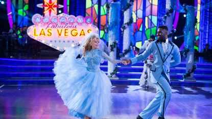 "Charo and Keo Motsepe on ""Dancing With the Stars."""