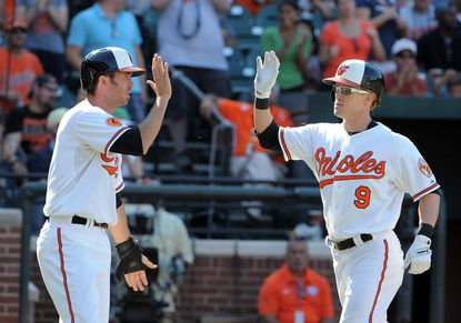 Nate McLouth, now a member of the Washington Nationals, might be a candidate to help the Orioles if a trade could be worked out.