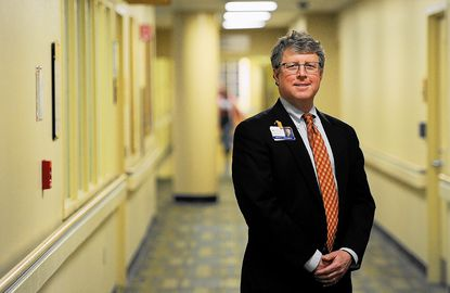 New Howard hospital president sees a healthy approach here