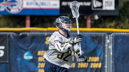 Canisius senior attackman Connor Kearnan led the Metro Atlantic Athletic Conference in points last spring and was tied for first in goals en route to being named the league's Co-Offensive Player of the Year.