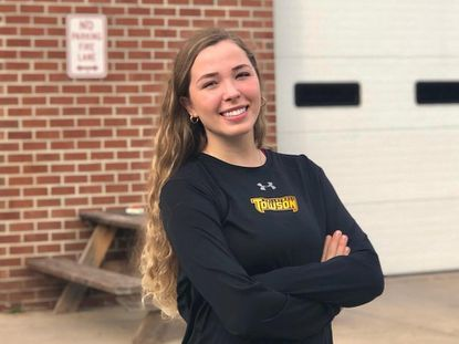 Towson volleyball player Alexa Welch is working as a provisional EMT.