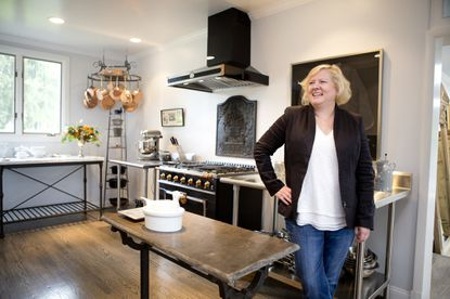 Chef Cindy Wolf, pictured in her kitchen at her home in Sparks, is again a semifinalist for a James Beard Award.