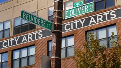 Baltimore, MD -- 10/16/2015 -- The City Arts building at 440 East Oliver Street. Karl Merton Ferron/Baltimore Sun