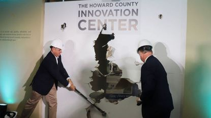 Howard breaks ground at Columbia center intended to attract tech companies