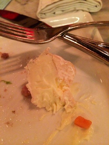 Eating Cheese With a Fork: Four Fat Fowl's St. Stephen cheese at Pen & Quill