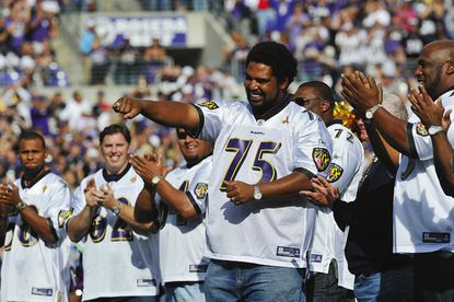 Former Ravens linemen Ogden and Williams like what they see from rookies Stanley and Lewis