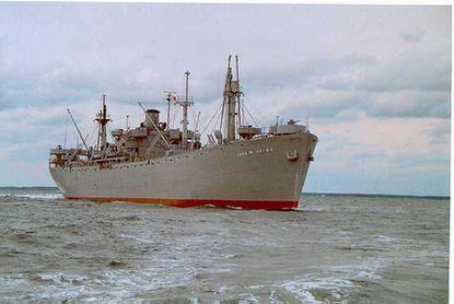 The Liberty Ship John W. Brown.