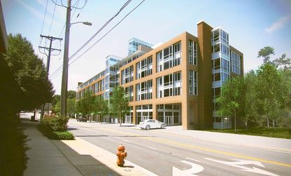 The 101 York student apartment complex planned for the Towson Triangle near Towson University is designed to draw students away from housing in residential neighborhoods and closer to school. A lack of proposed parking remains a concern.