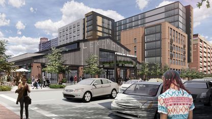 A rendering of Lexington Market. The first town-hall meeting to discuss the redevelopment of the market will take place June 26.