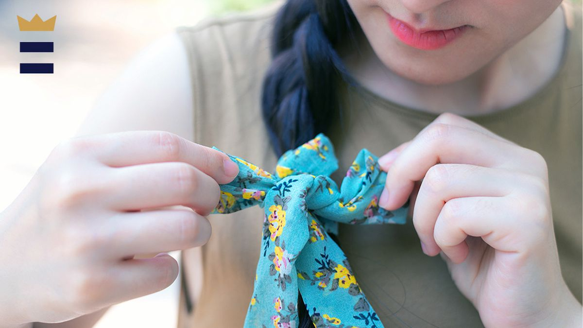 how to make hair ribbons for softball