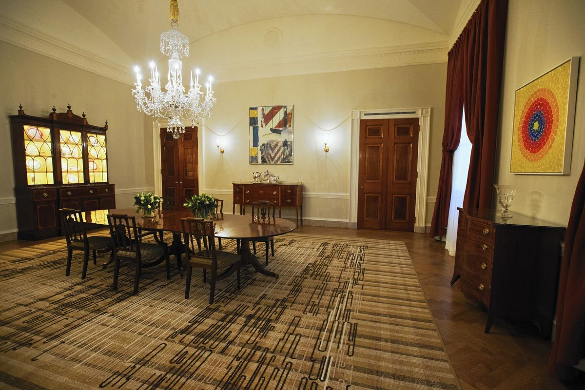 White House Adds Old Family Dining Room, White House Family Dining Room
